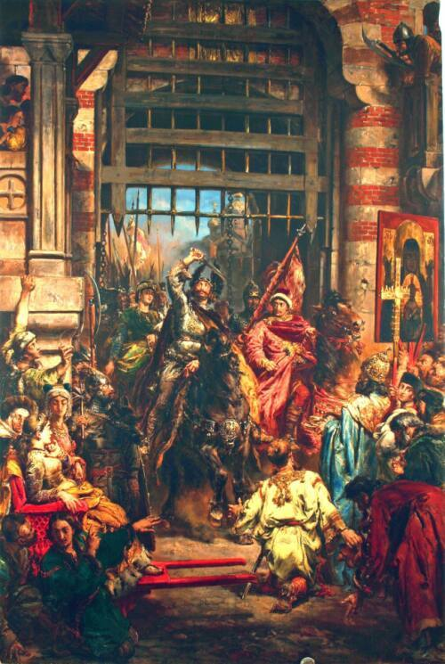 Соседи русских княжеств в 1237 году