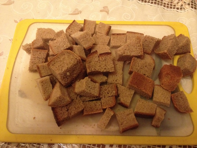 Не знаете куда деть черствый черный хлеб? еда, сделай сам