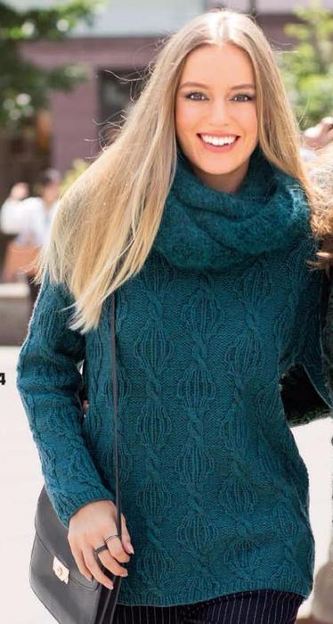 Утепляемся: Уютный пуловер и…