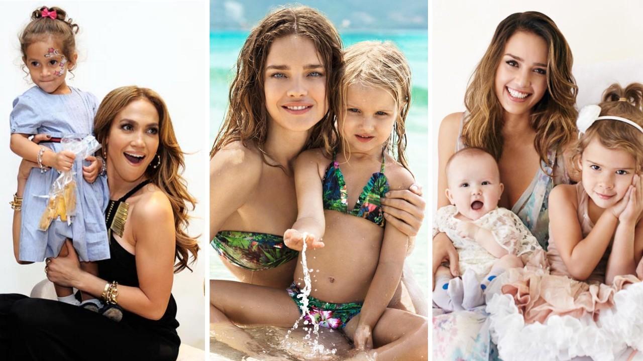 Красота в наследство: самые красивые женщины мира и их дети — Eщё