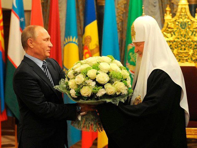 Беседа Патриарха Кирилла с П…