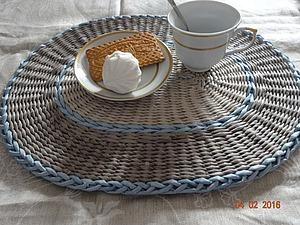 Мастер-класс: плетение сервировочных ковриков из бумажных трубочек