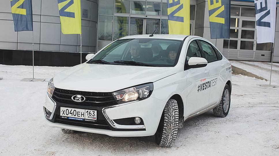 Lada Vesta объехала регионы - новая модель АвтоВАЗа не вызвала ажиотажного спроса