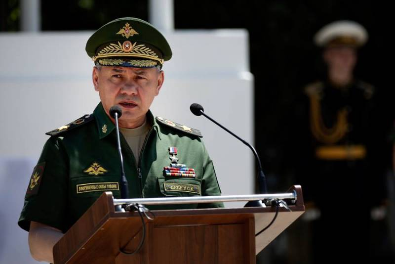 Шойгу рассказал о роли ВС РФ в разгроме ИГ в Сирии