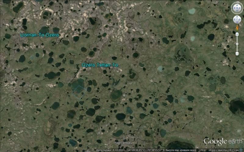 Сибирские кратеры: Различные версии происхождения Original