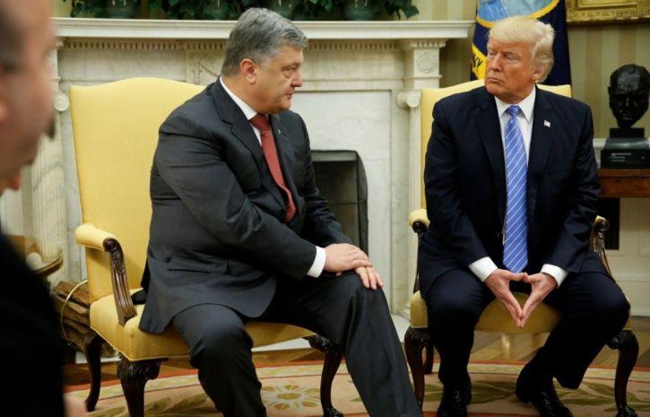 Трамп НЕ встречался с Порошенко