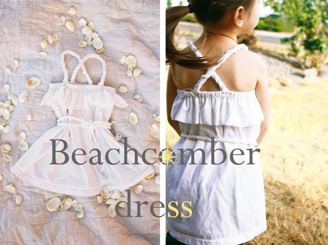 Детское платье из футболки (Diy)