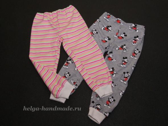 Сшить штанишки для ребенка