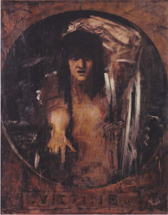Жертва - Гюстав Моро
