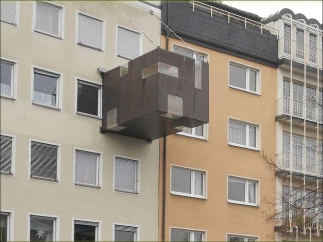 Обнаглевшие соседи, которые расширили балкон