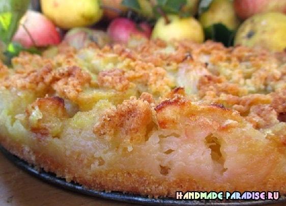 Торт. Яблочно-грушевая лакомка (2)