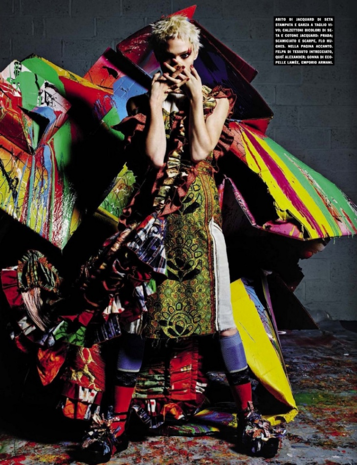 """Стиль в Избытке"" (?) Vogue Italia, February 2015"