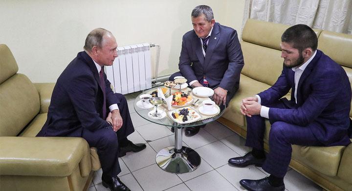 Путин: Нурмагомедов выполнил…