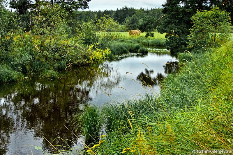 Маленькая река Шередарь