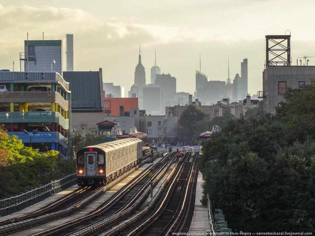 """Жанр """"солянка""""   из сегодняшнего  Нью Йорка: посмотрим, как там на ньюйоркщине"""