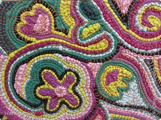 Мастер-класс Поделка изделие Вышивка Вышивание бу футболками Бисер Канва Нитки Ткань фото 2
