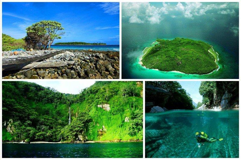 Остров Кокос - огромный необитаемый заповедник жизнь, земля, интересное, необитаемые острова, факты
