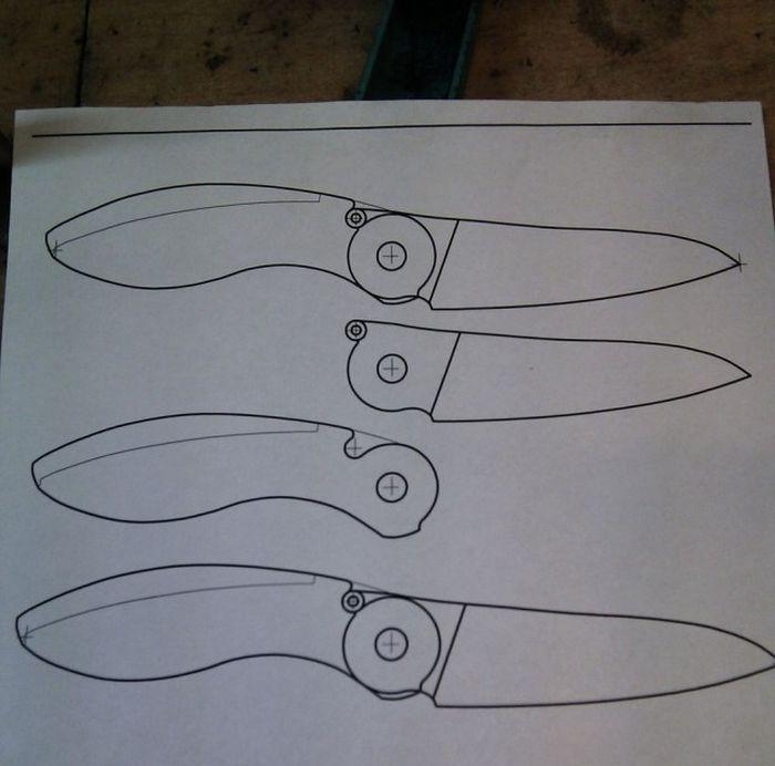 Флипперы ножи своими руками
