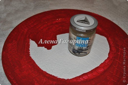 Декор предметов Мастер-класс Декупаж Тарелка Фламенко Бумага фото 6