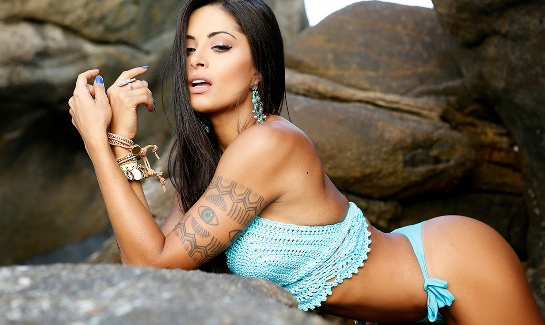 Алина Рискадо: бразильский карнавал красоты
