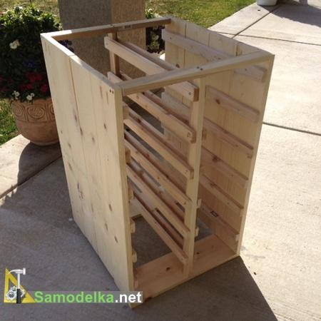стол для мастерской своими руками - собираем стенки