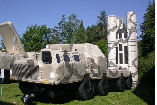 Макеты боевой техники