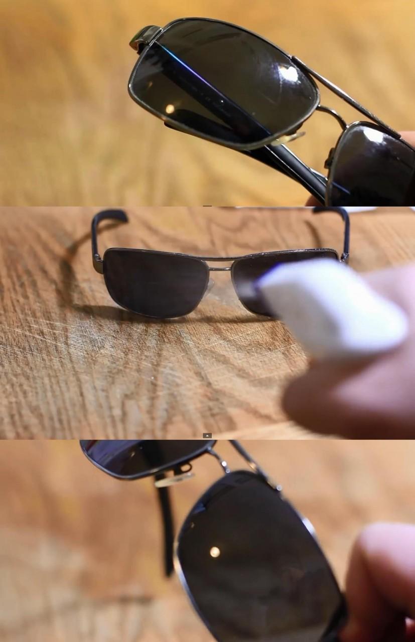 9. Сияющие очки быт, идея, уксус