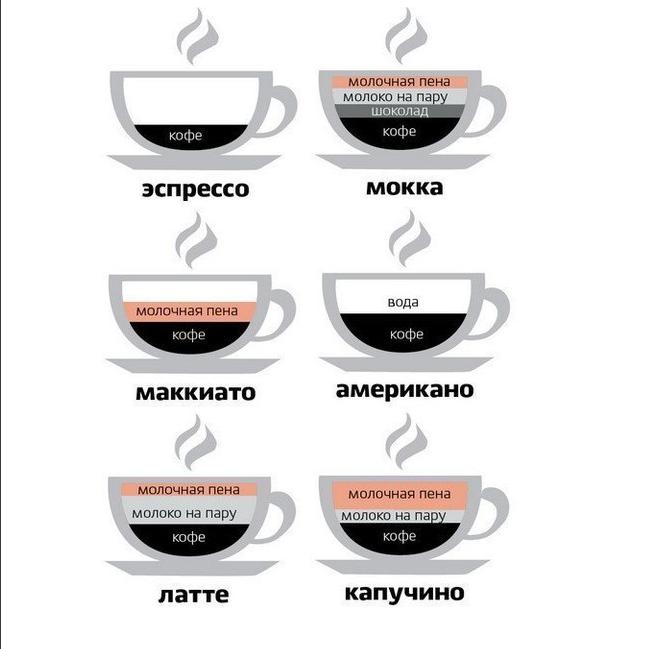 Кофе в разрезе