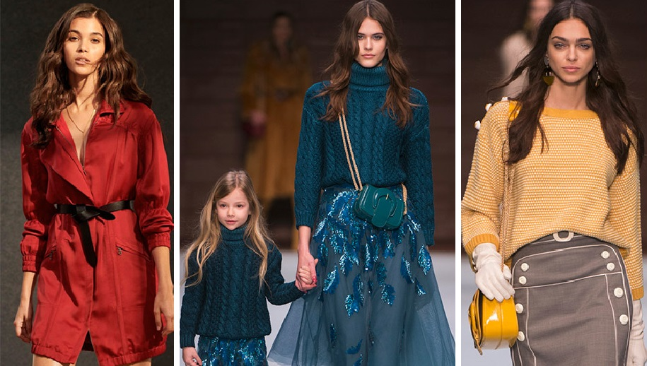 Самые популярные цвета: осень-зима 2018 года