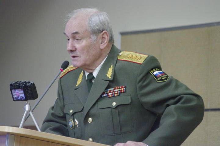 Генерал-полковник Л.Г. ИВАШОВ отвечает на вопросы главного редактора «Советской России» В.В. ЧИКИНА