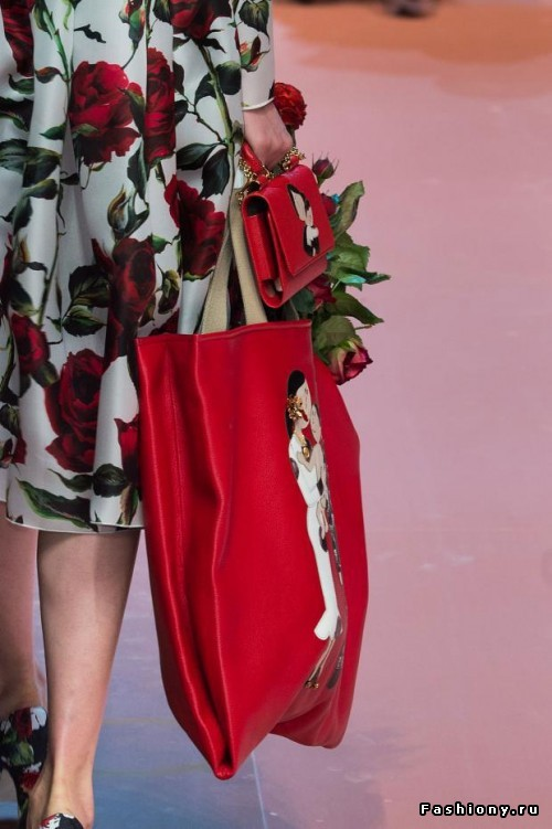 Красота в деталях: Dolce & Gabbana Осень-Зима 2015-2016 (сумки и обувь) .
