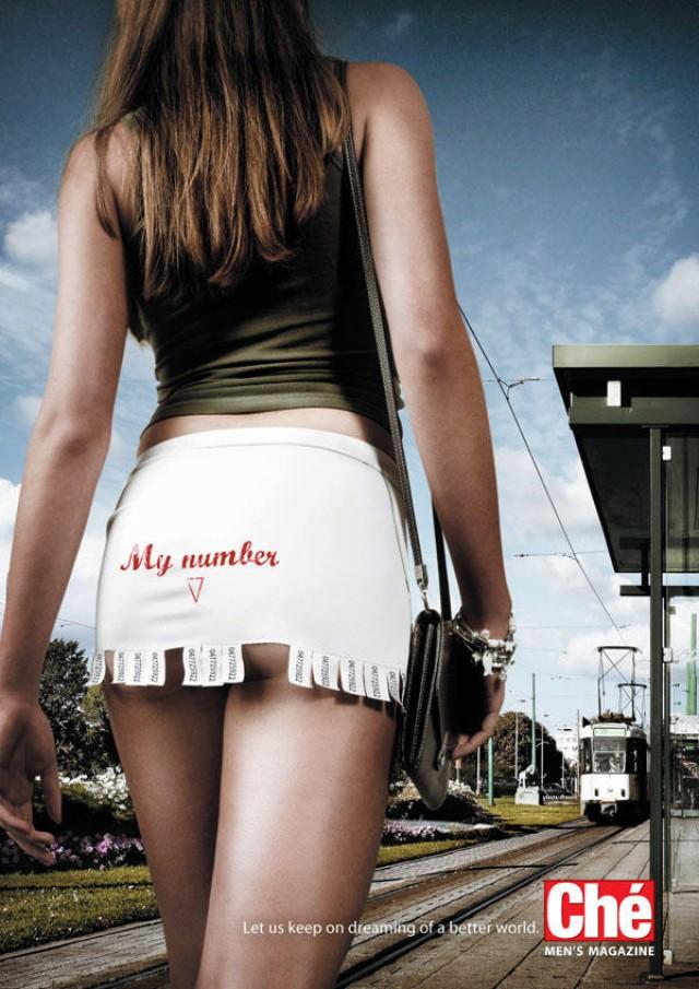 Секс – двигатель торговли. Самая волнующая эротическая реклама (фото)