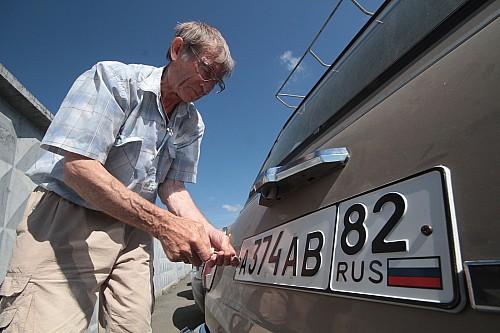 Крым остался без новых автомобилей