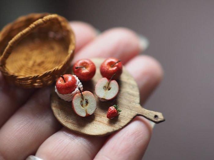 Миниатюрный мир японской художницы Киёми миниатюра, своими руками, художница, ювелирная работа. красота. искусство
