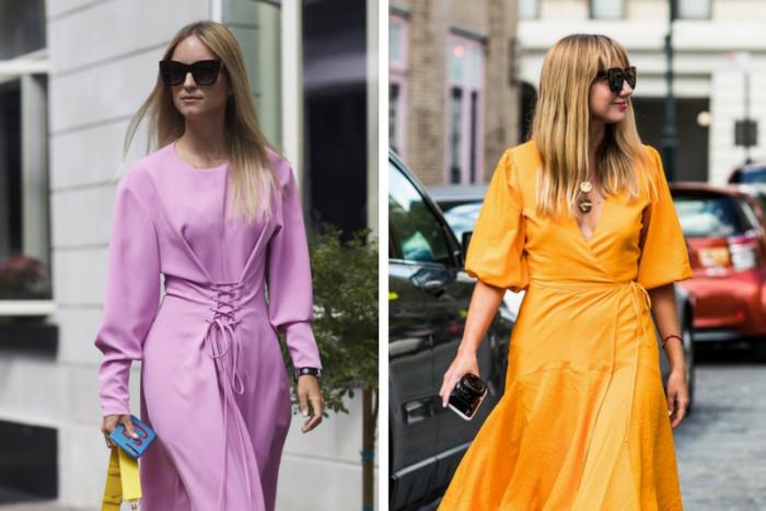Весенние платья