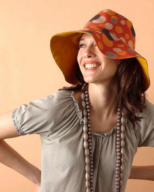 Как сшить летнюю шляпу с полями