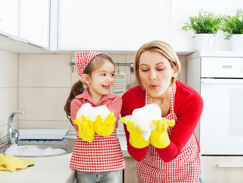 Уборка квартиры при помощи... продуктов!