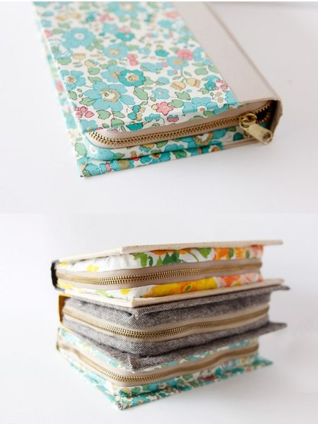 Клатч-кошелек из книги