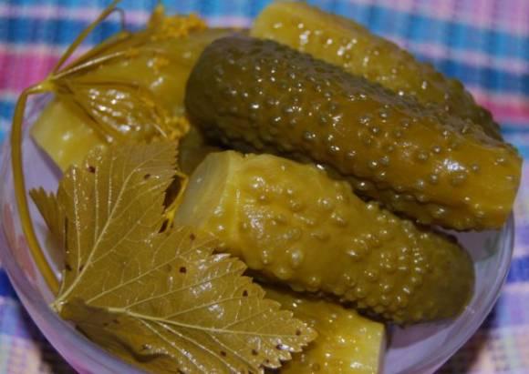 Рецепт соленых огурцов хрустящих