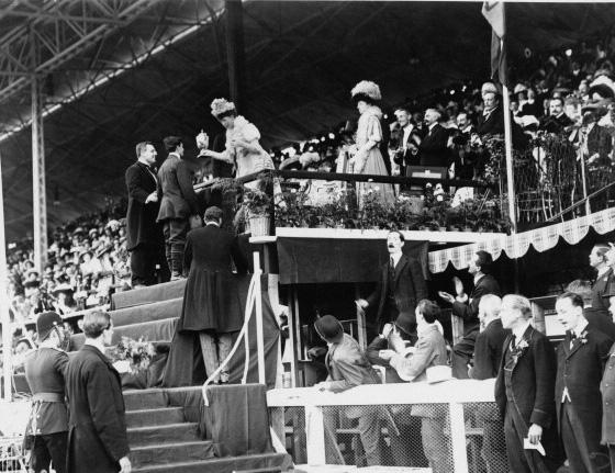 Драматическая история Олимпийского марафона 1908 года