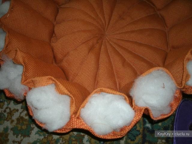 Лежанка для кошки своими руками из ткани