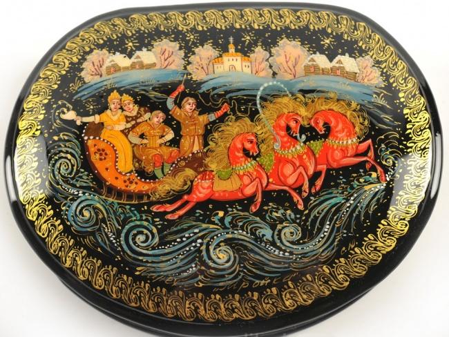 Картинка роспись палех