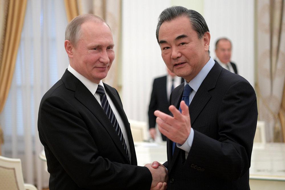 Путин передал наилучшие пожелания главе КНР