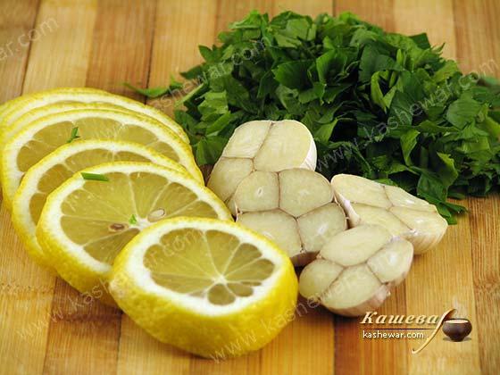 петрушка с лимоном от веснушек