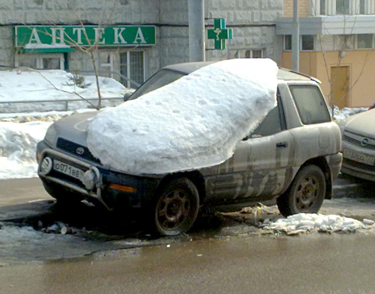 Готовим автомобиль к весне