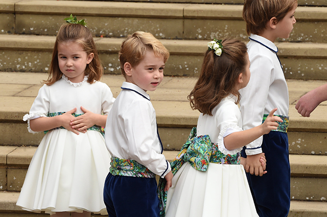 Принц Джордж и принцесса Шар…