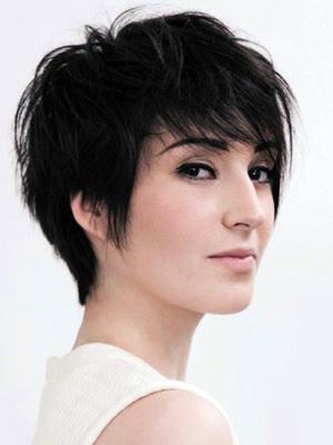 яркие стрижки на тонкие волосы фото