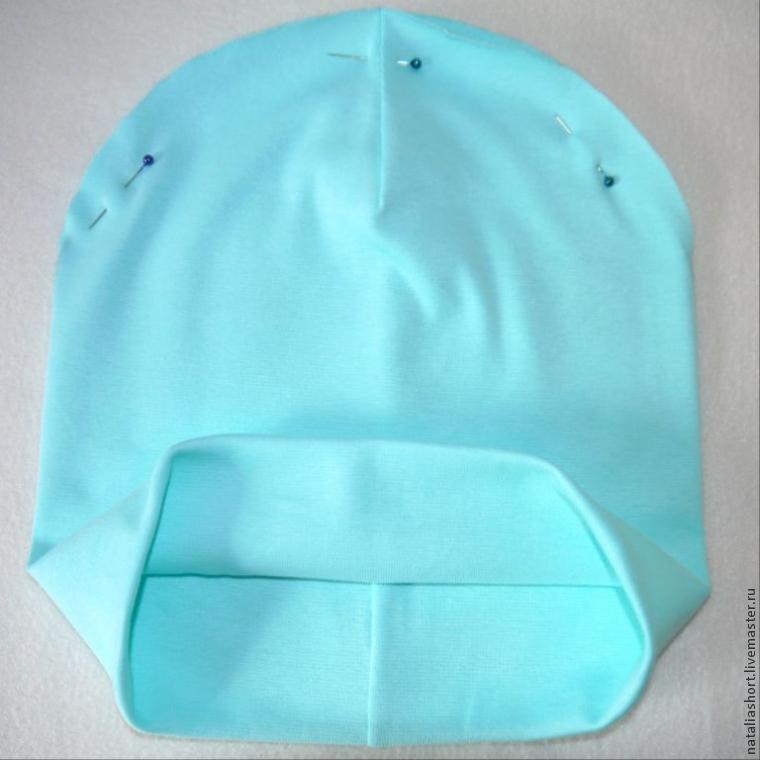 Как сшить трикотажную шапку своими руками видео