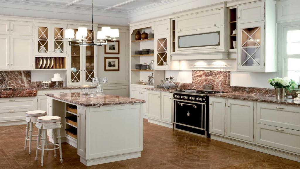 classic kitchens 13 1024x576 Дизайн фасадов кухонных шкафов 60 фото