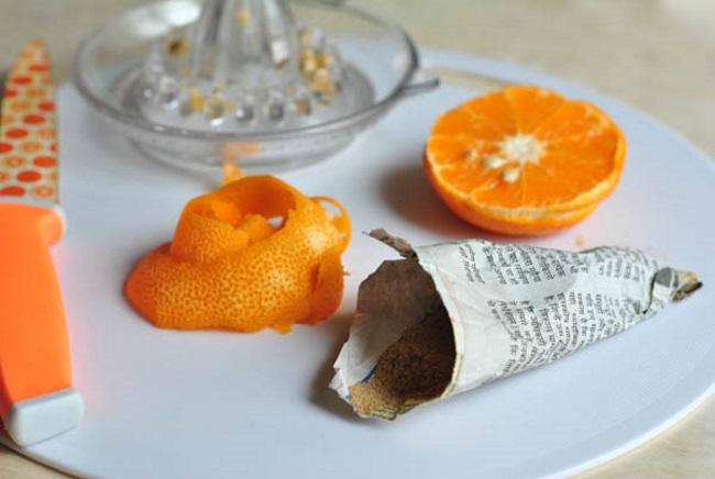 Как можно использовать мандариновую кожуру. мандариновый чай